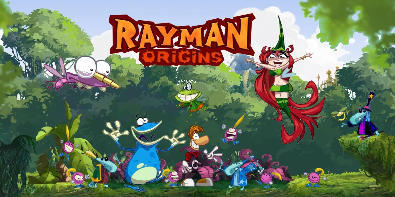Výsledek obrázku pro Rayman Origins