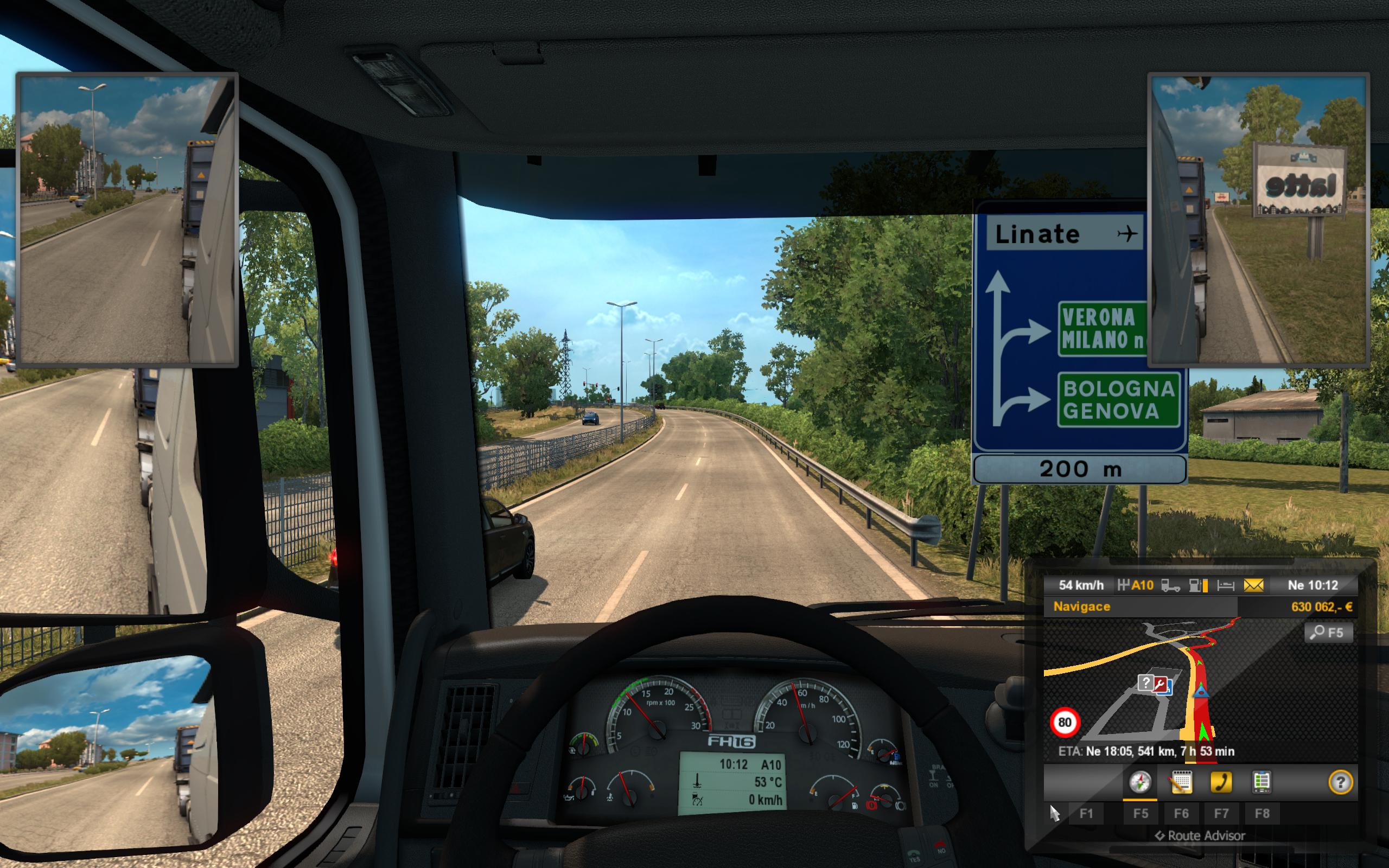 euro truck simulator 2 wheel and pedals