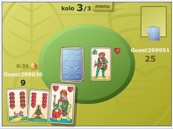karetní hra sedma online