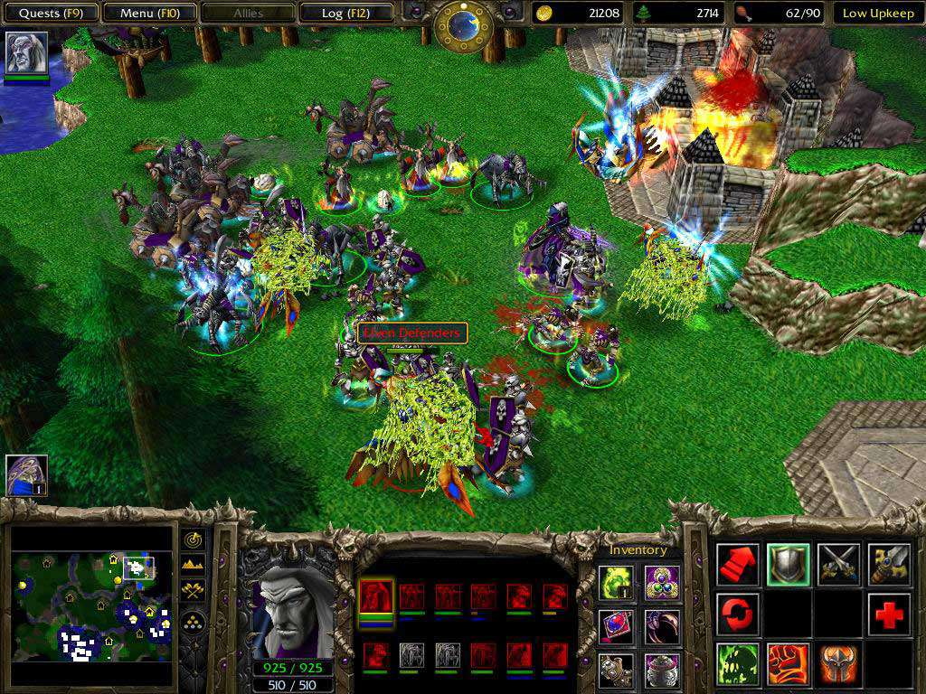 Warcraft Dota 3 Frozen Throne For Mac
