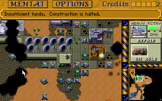 Dune Ii The Building Of A Dynasty Online