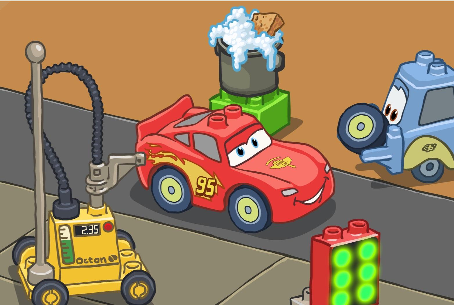 Hry pro kluky auta