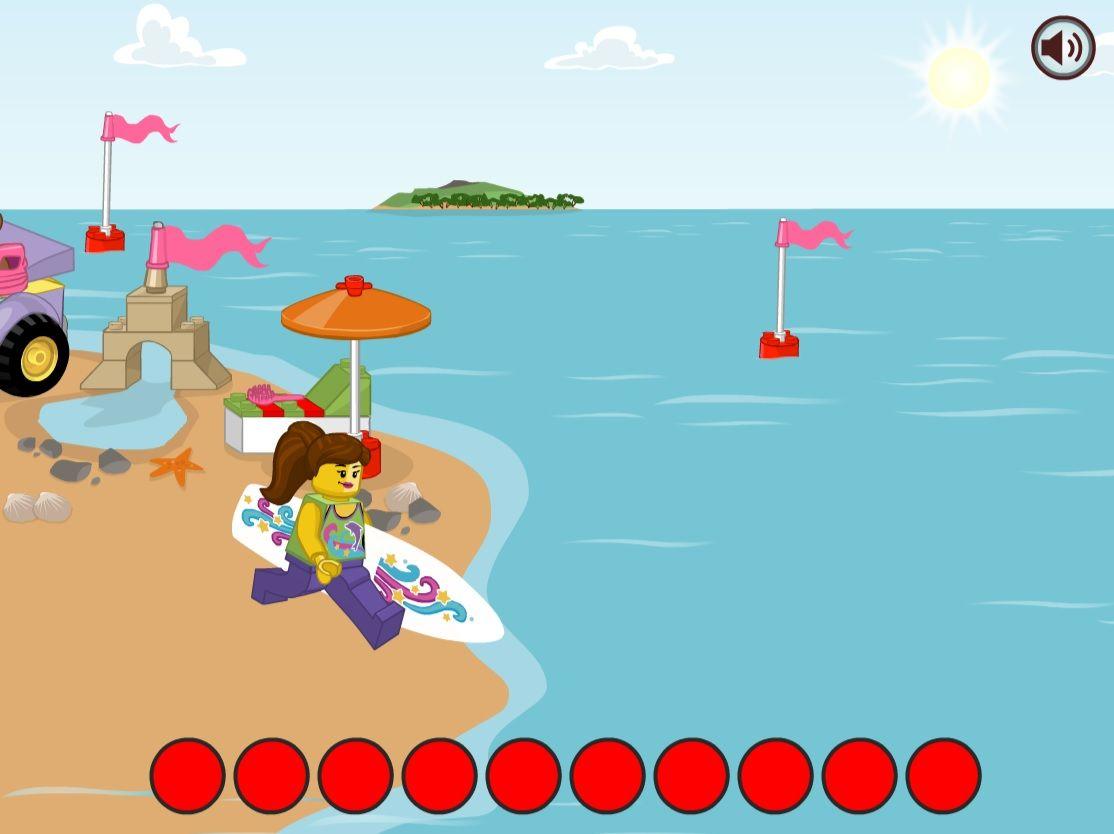 LEGO® Juniors: Surfařka
