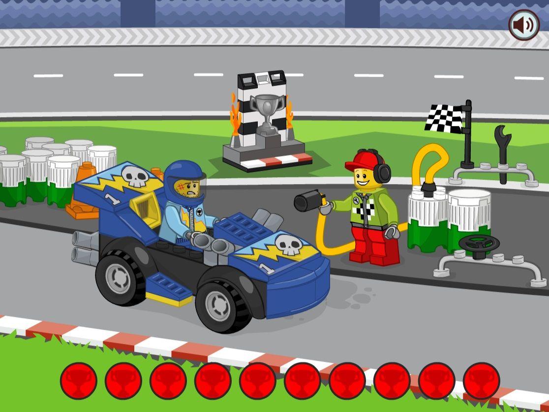 LEGO® Juniors: Natankuj závoďák