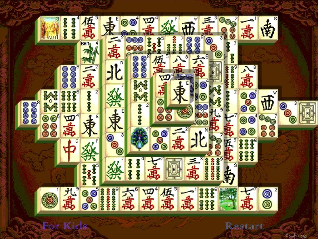 Mahjong Shanghai Dynastie