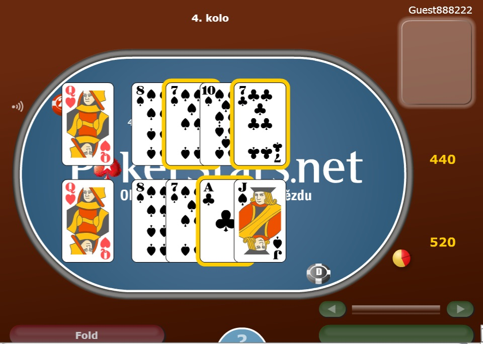 Poker online hry zdarma